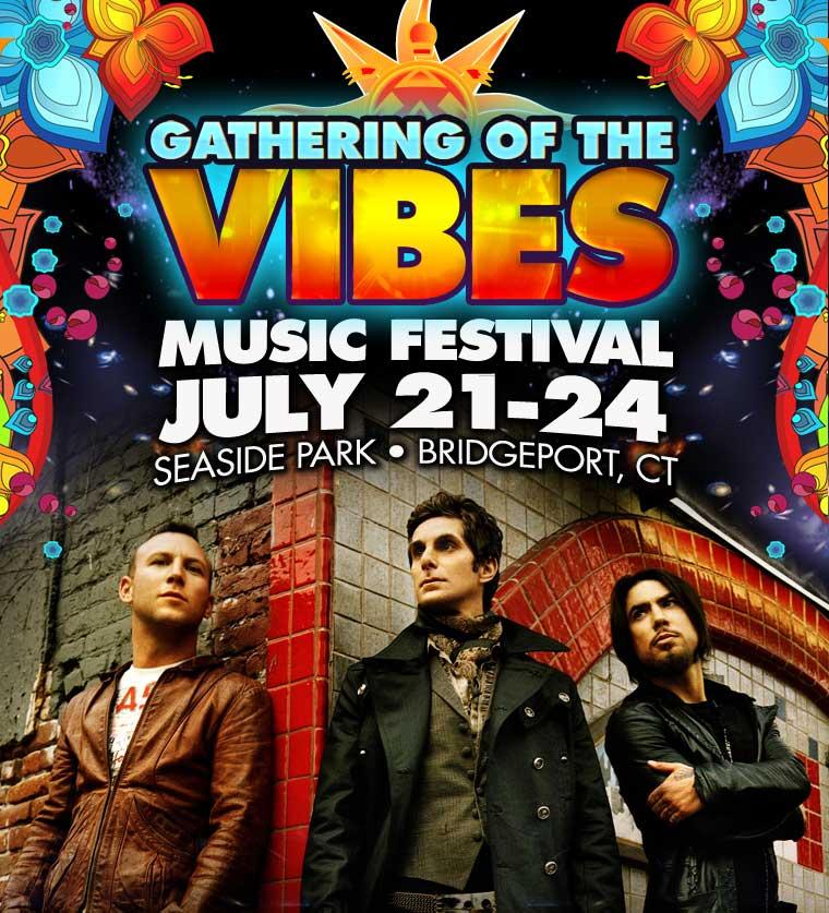 Gathering of the Vibes 2011 :: July 21 - 24 | Seaside Park • Bridgeport, CT